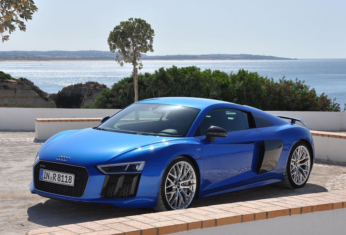 Der Neue Audi R8 V10 Plus Audis Mittelmotor Sportwagen Im